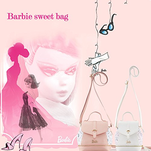 Barbie Serie de Princesa Mochila Simple de Remaches de Jalea Clara para chicas 7