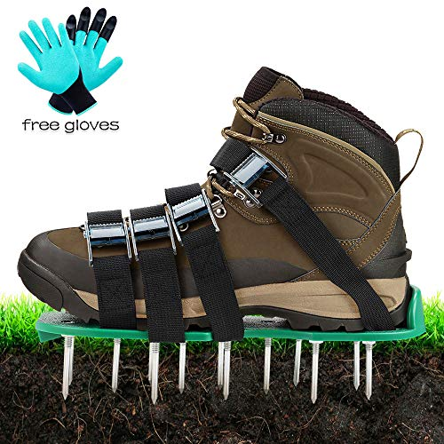 Top 10 recommendation lawn aerator shoes 4 adjustable straps 2019