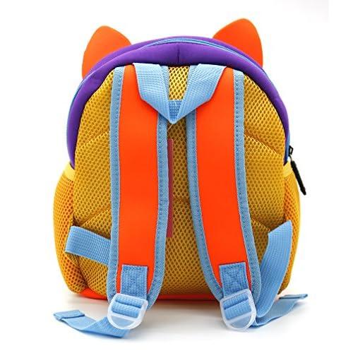 Shinybaby Little Kids Backpack 3d Animal Cartoon Waterproof