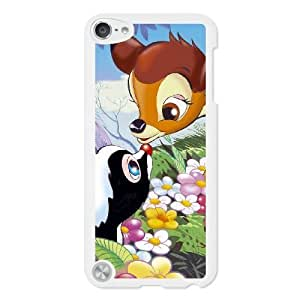 Fashion image DIY for iPod 5 Case White bambi animations walt disney cute Best Gift Choice For Christmas DSY9803947