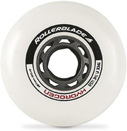 Rollerblade Hydrogen 80mm 85A Wheels /& Headband Bundle