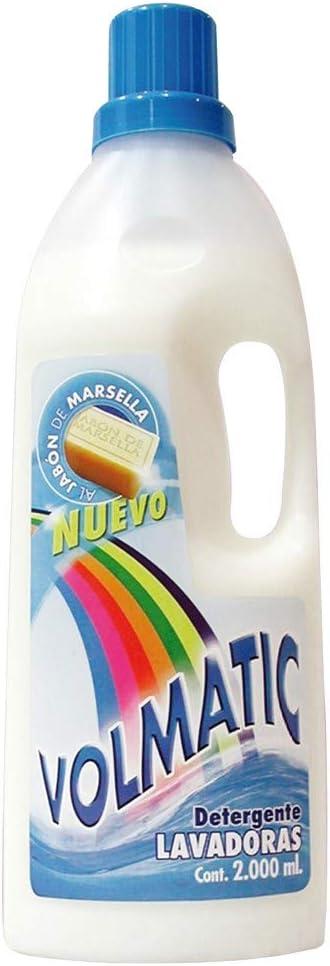 Volmatic - detergente liquido 25d marsell volmatic 2 l.: Amazon.es ...