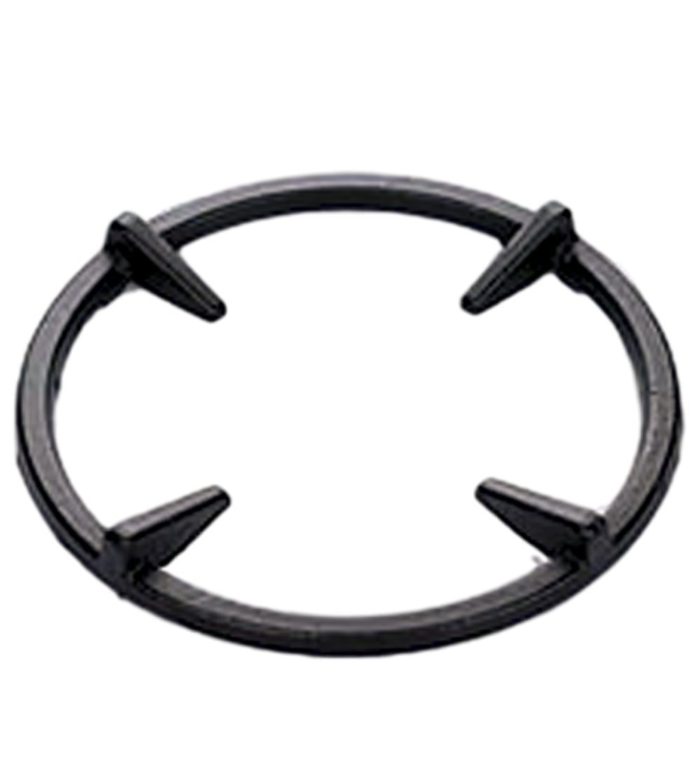 Universal Non Slip Black Cast Iron Stove Trivets for Kitchen Wok Support Ring Cooktop Range Pan Holder Stand Stove Rack Milk Pot Holder for Gas Hob - Gas Stove accessories