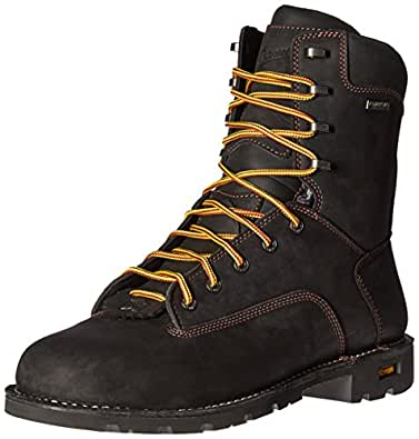 Amazon Com Danner Men S Gritstone 8 Quot Black Work Boot Boots
