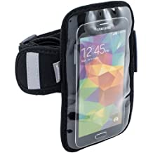 Arkon Sports Running Jogging Neoprene Smartphone Armband iPhone 6 with Case Samsung Galaxy/S5/S4 with Case Note 4/Note 3, HTC One/M8