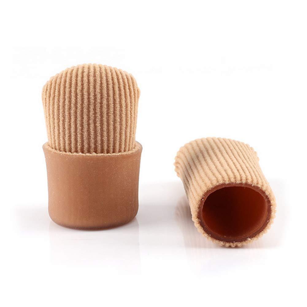 Daumenschützer Silikon Daumenhülsen Finger Toe Abdeckung Groß für Schmerzlinderung 1 Stücke (M) NaiCasy