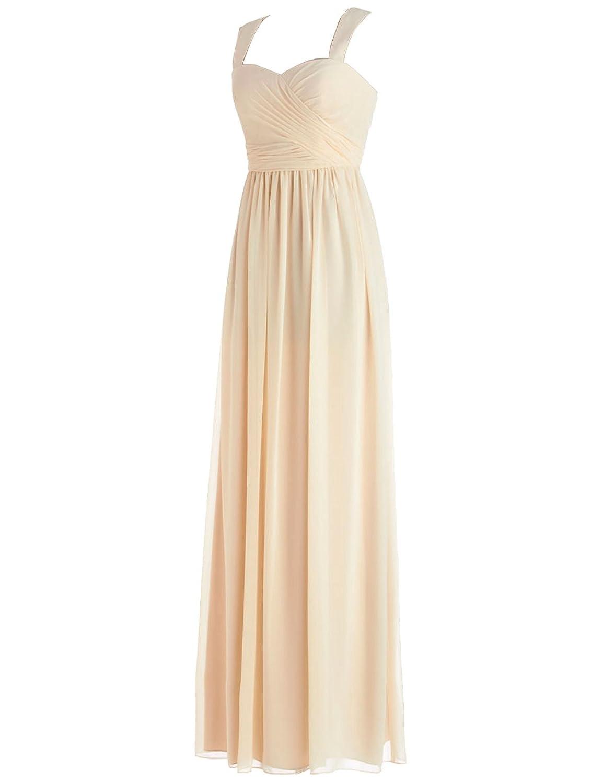 Dressystar Women's A-Line Plain Sleeveless Dress