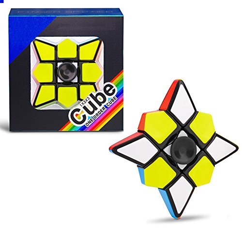 Yapeer 1×3×3 キューブ 子供大人向け ハンドおもちゃ 指遊び 2in1 高速回転 知育玩具 ストレス解消