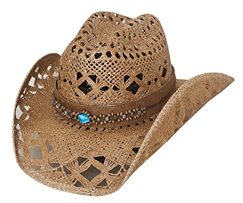 - Bullhide Bean Me Up - Womens Straw Cowboy Hat (Medium)