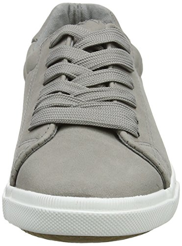 Donna Grigio 2 Grey 4 New Moggy Sneaker Look Mid q7IxwRv