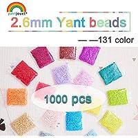Juguete Rompecabezas 2.6mm YANTJOUET 1000pcs Perler Beads partículas