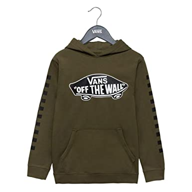 Vans Sudadera Exposition Check Po Boys Grape Leaf Black: Amazon.es: Deportes y aire libre