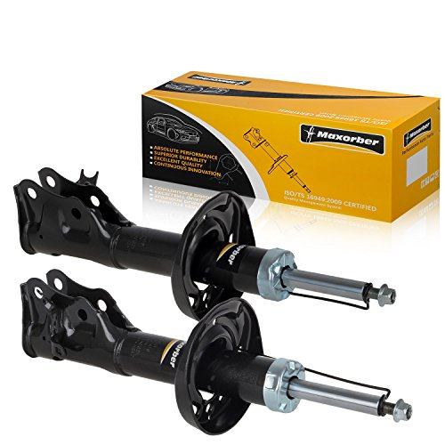 Maxorber Front Left Right Shocks Struts Absorber Compatible with Honda Civic Coupe Si 2006 2007 2008 2009 2010 2011 Shocks Absorber Driver Passenger Side 339255 339256 51606SNXA01 51605SNXA01