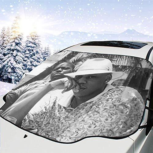IUSGWY SWJI Jay-Z & Biggie- Brooklyn's Finest Windshield Front Car Sun Shade