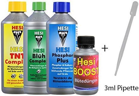 Kit de Abono / Fertilizantes para el cultivo HESI (Indoor & Outdoor Pack)