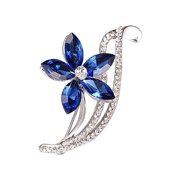Uhren & Schmuck Frauen Diamant Kristall Bauhinia Form