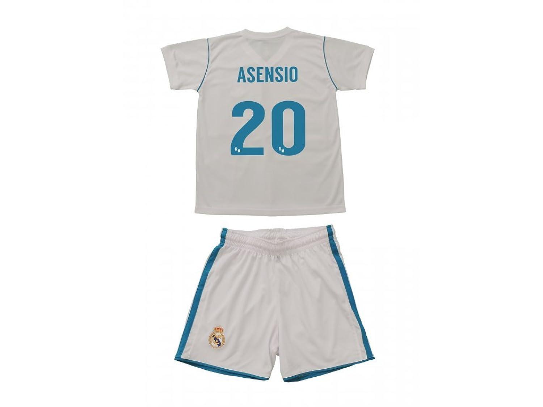 Camiseta 1ª Equipación Replica Oficial REAL MADRID CF 2017-2018 ...
