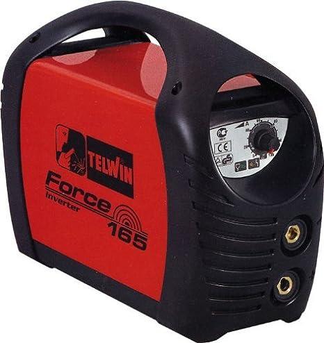 Equipo de soldadura Telwin mod.Force165 1, 6-4,6Kw 5-150Ah con accesorios: Amazon.es: Bricolaje y herramientas