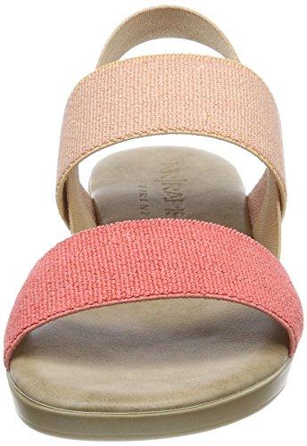 salmon pink Para Nr Tobillo Mambo Rapisardi Correa Mujer De Rosa Multi14natura Sandalias Con copper ZB6wqv