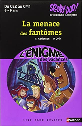Livres gratuits en ligne Cahier de vacances  - Enigmes  Scooby-Doo La menace des fantomes CE2 - CM1 epub pdf
