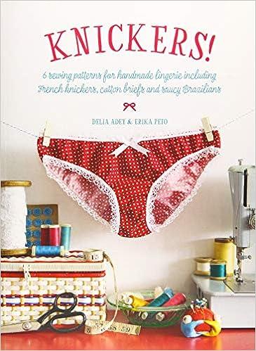 Anchor Pattern Panties Cotton Handmade Women Lingerie