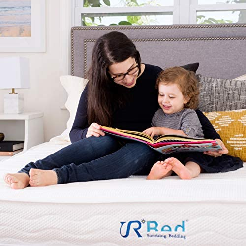 Sunrising Bedding 8 Natural Latex Twin Mattress, Individually Encased Pocket Coil, Firm, Supportive, Naturally Cooling, Non-Toxic Organic Mattress, 120-Night Risk-Free Trial, 20-Year Warranty