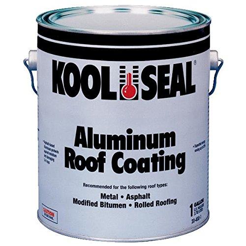 Kool Seal 20-400-1 Good Quality Aluminum Roof Coating