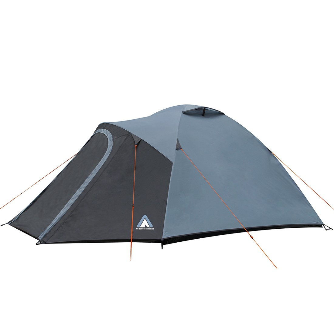 10T Outdoor Equipment Glasgow 5 Zelt, Blau, 340 x 320 x 180 cm