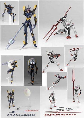 Unit-04 /& Mark.06 Premium Set by Kaiyodo Evangelion Evolution REVOLTECH