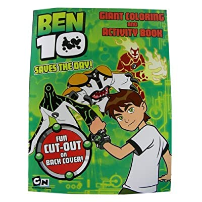 Ben 10 Coloring & Activity Book - Ben10 'Saves The Day' Coloring Activity Book: Toys & Games