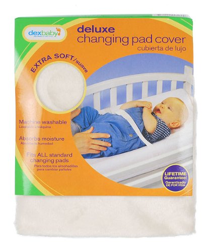 Dex Products Changing Pad Cover Deluxe Terry - Ecru