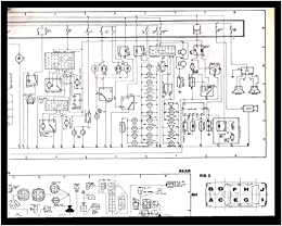 Toyota Corolla 1980 Model Wiring Diagram, Instrument Panel diagram, and  Diagrams for all Four Fuse and Relay Blocks: Toyota: Amazon.com: Books | 1980 Toyota Fuse Panel Diagram |  | Amazon.com