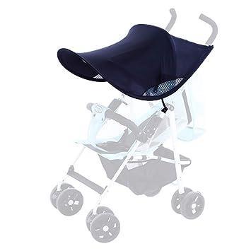 Amazon Com Topwon Universal Stroller Canopy Extender Sun Shade Rayshade Stroller Cover Black Baby