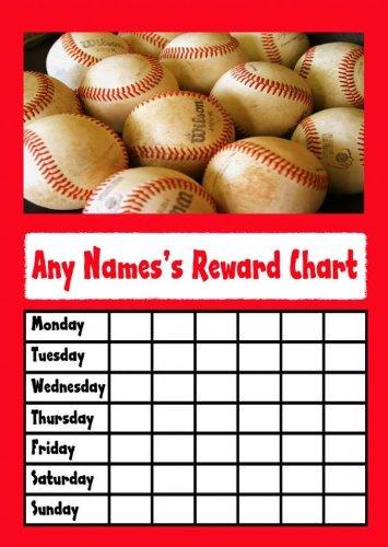 Baseball Star Sticker Reward Chart