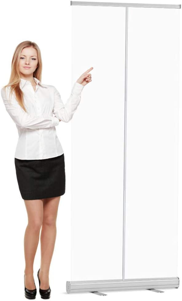Transparent Pull Up Banner Screen