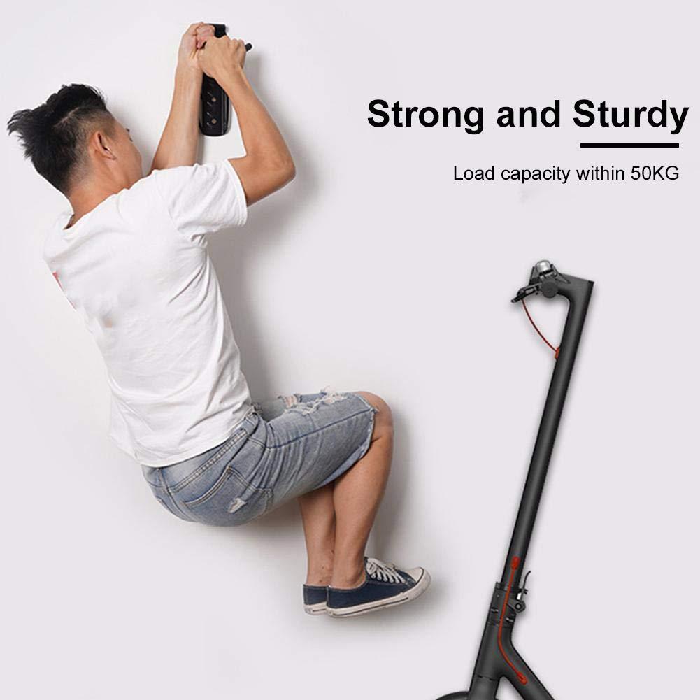 todaytop Vertical Scooter Wandhalterung Fahrradhalterung Wandhalterung f/ür Xiaomi m365 Scooter Wandhalterung Reifenhalter