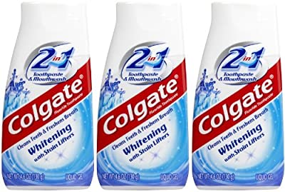 Colgate 2-in-1 Whitening Toothpaste & Mouthwash - 4.6 oz - 3 pk