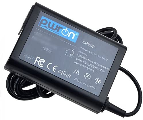 PwrON AC to DC Adapter for Wacom Cintiq Companion DTH-W1300 DTH-W1300L DTH-W1300H Graphics Tablet PC Computer DTHW1300 DTHW1300L DTHW1300H; Wacom Cintiq Companion Model PA-1650-80 PA165080 LiteOn