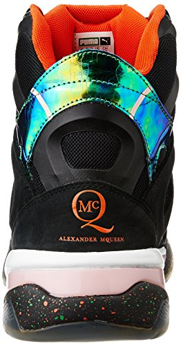 Puma McQ Tech Runner Mid Black by Alexander McQueen Mens Sneaker