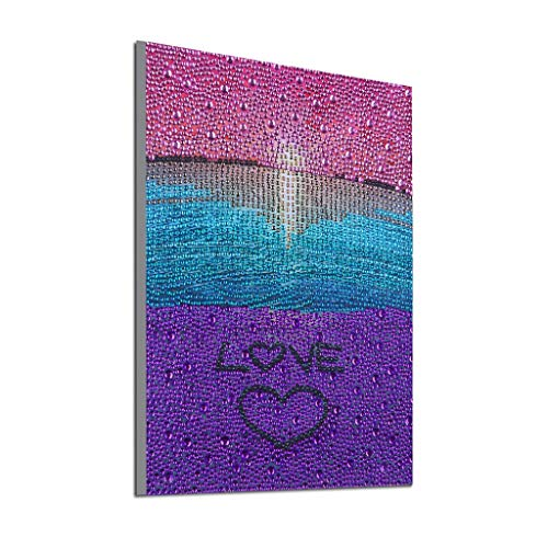 BeautyShe 5D Diamond Painting Full Drill Diamond Embroidery Rhinestone Painting Cross Stitch Kit Wall Art ()
