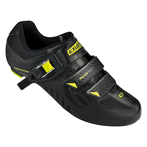 Exustar RD Shoes, Black/Green, 37 For Sale