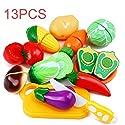 キッチンおもちゃ楽しい果物を切る野菜、子供のための食べ物の試写女の子の男の子教育的早い年齢基礎技能の開発