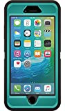 OtterBox DEFENDER iPhone 6 Plus/6s Plus Case - Retail Packaging - (LIGHT TEAL/BLACK)