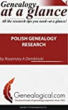 img - for Polish Genealogy Research (Genealogy at a Glance) by Rosemary A. Dembinski Chorzempa (2013-02-02) book / textbook / text book