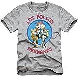 Breaking Bad Los Pollos Men's Heather Grey T-Shirt XL
