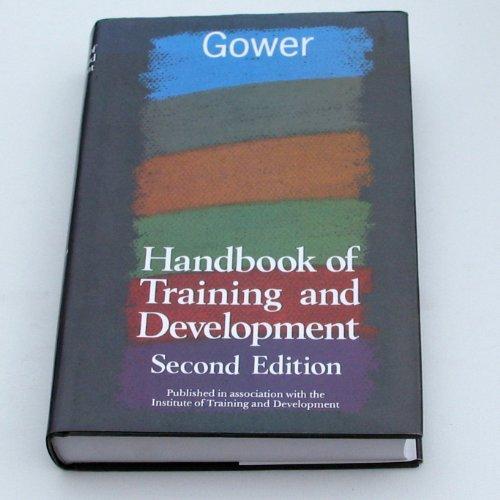 Gower Handbook of Training and Development