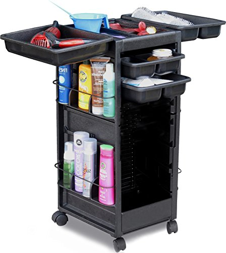 N20-FF SALON TROLLEY ROLL-ABOUT ROLLING CART NON LOCKING MADE IN USA by Dina Meri by Dina Meri