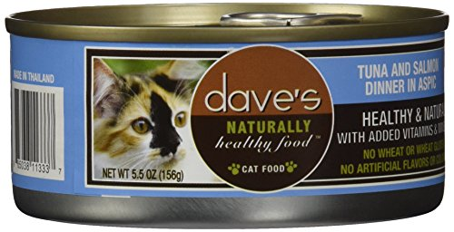 Dave's Pet Food Tuna and Salmon Food , 5.5 oz.
