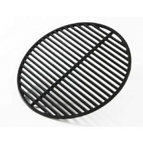 Big Green Egg Grill and Smoker Cast Iron Half Moon Grid, Large, 18-Inch by Big Green Egg