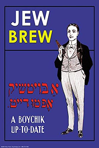 Buyenlarge Jew Brew Beer - Gallery Wrapped 28